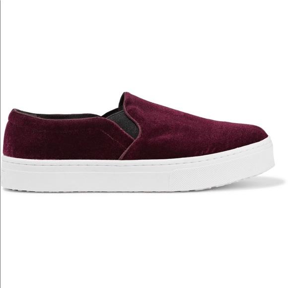 2c1a09764fb7 Sam Edelman Lacey velvet platform shoe slip on 9.5.  M 5a6f49a52c705d70980ec352